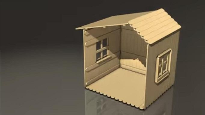 91 Gambar Cara Membuat Rumah Dari Stik Es HD Terbaik